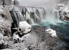 Kako izgleda zima u Nacionalnom parku UNA (FOTO)